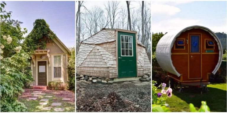 Across the united states tiny houses come in all adorable shapes and sizes