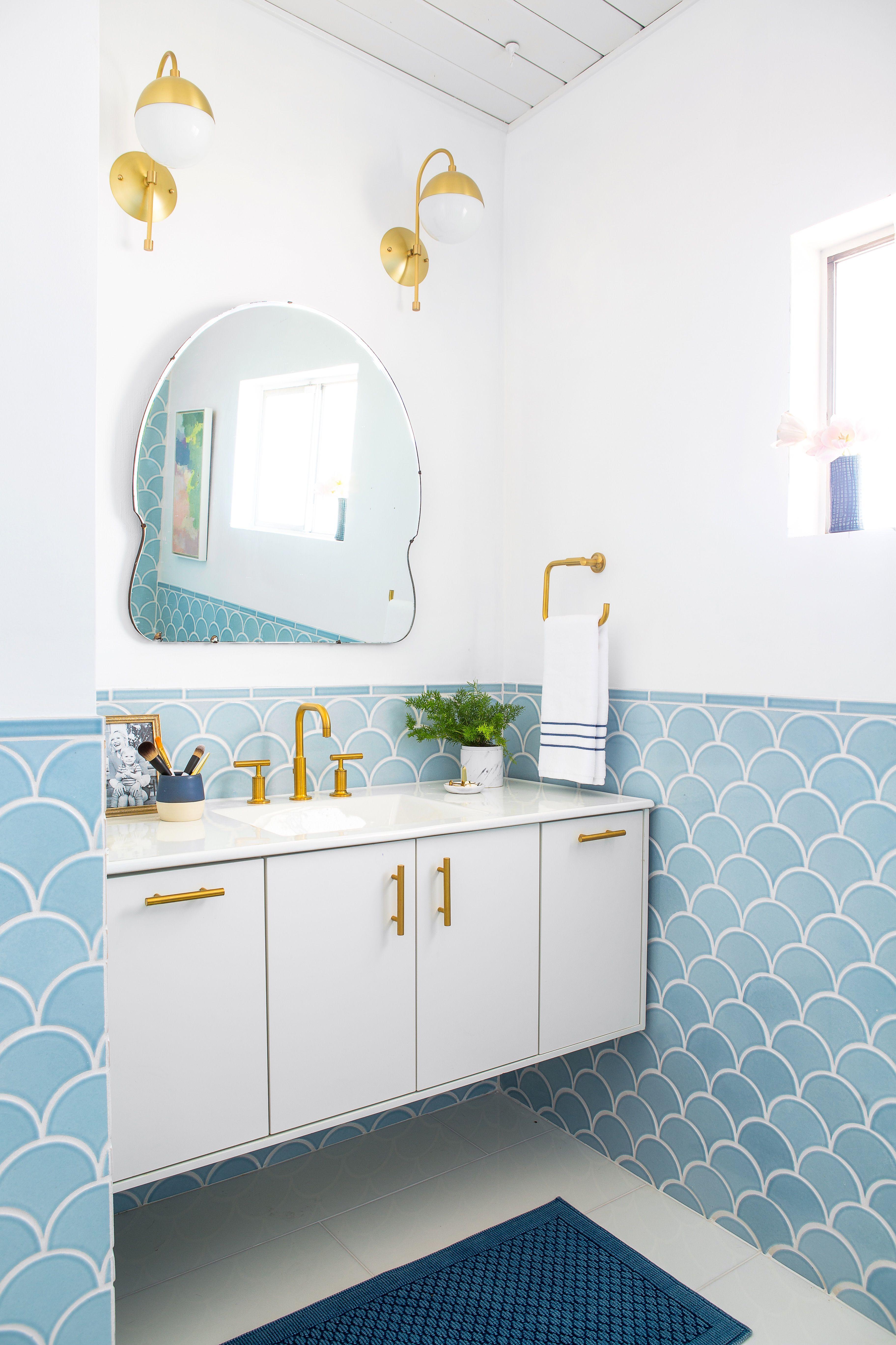30 bathroom tile design ideas tile backsplash and floor designs rh housebeautiful com bathroom tile wall ideas bathroom tile wall design