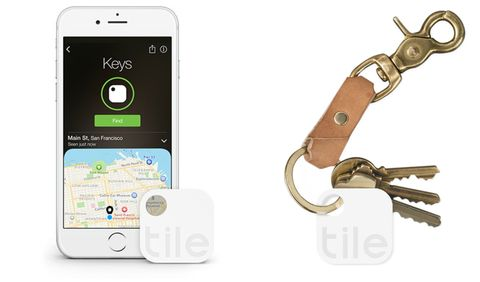 "<p>We knew it wouldn't be long before the tech world tried to solve this problem. <a href=""https://www.thetileapp.com/"" target=""_blank"">Tile</a> uses a small square keychain as a Bluetooth tracker, allowing you to figure out just where your keys are hiding with an app on your phone.</p><p><a href=""https://www.thetileapp.com/"" target=""_blank""><em>See more at The Tile App »</em></a></p>"