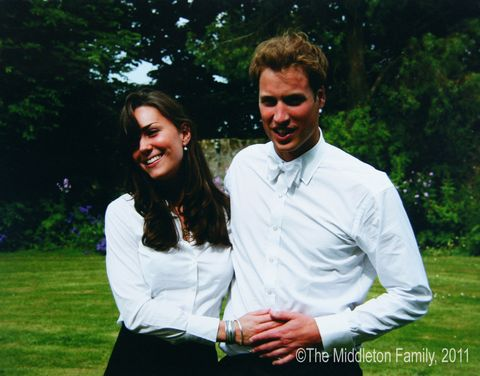 Prince William and Kate Middleton on St. Andrew's Graduation Day