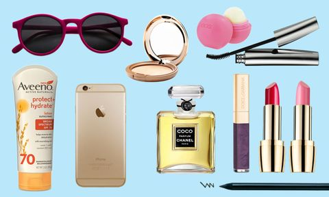 Eyewear, Vision care, Goggles, Pink, Sunglasses, Lipstick, Portable communications device, Eye glass accessory, Writing implement, Magenta,