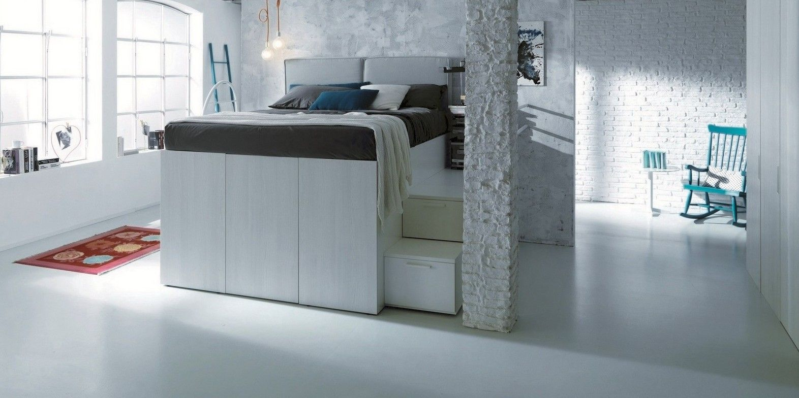 loft bed and in mesmerizing inspiring room underneath beds decors awesome with walk ideas closet picture photo youtube