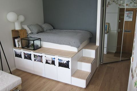 ikea bed hack