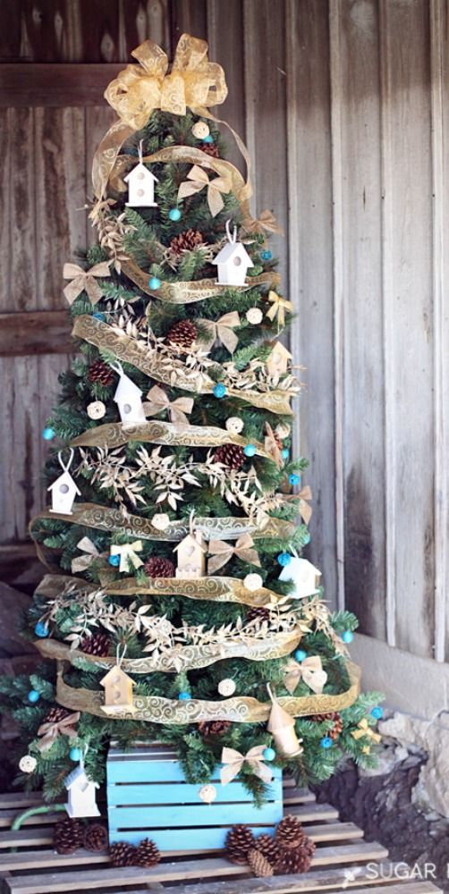 37 Christmas Tree Decoration Ideas   Pictures Of Beautiful Christmas Trees