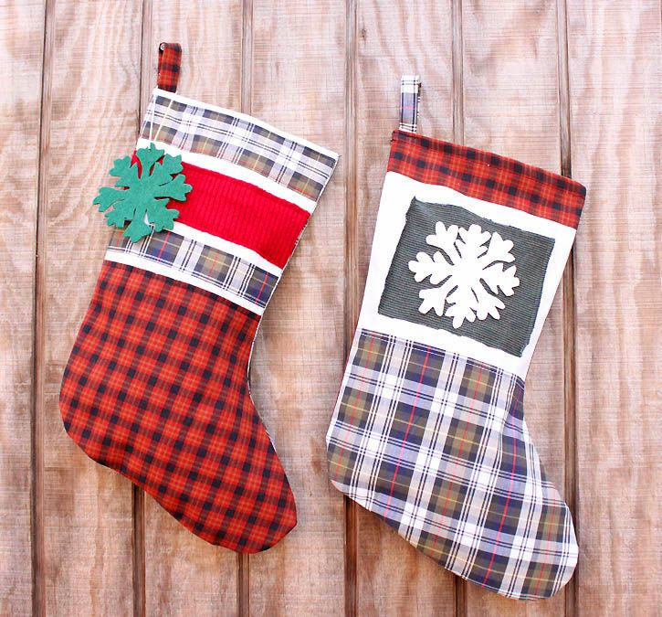 Great 27 Unique Christmas Stockings   Best Cute DIY Ideas For Holiday Stockings