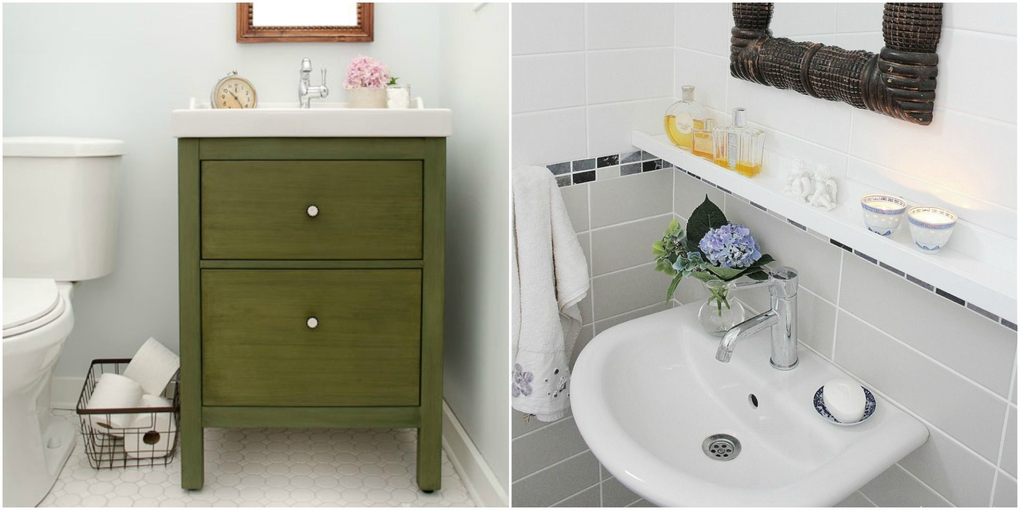 7 IKEA Bathroom Hacks - New Uses for IKEA Items In the Bathroom
