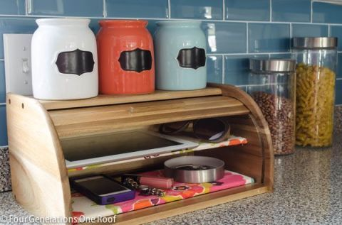 DIY BREADBOX STORAGE | LUXEMILLENNIAL.COM