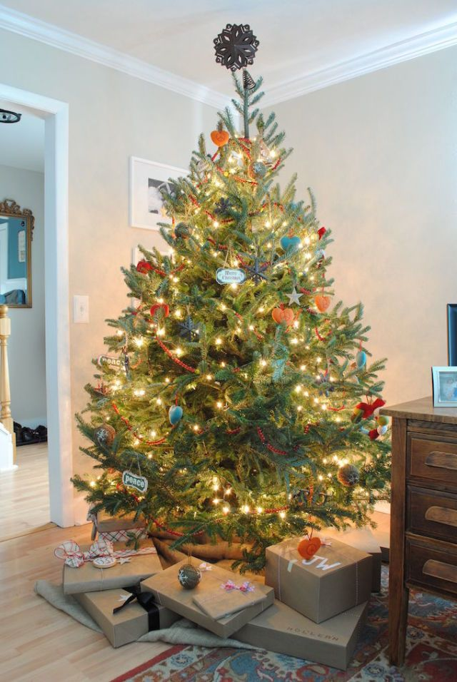 56 Christmas Tree Decoration Ideas , Pictures of Beautiful
