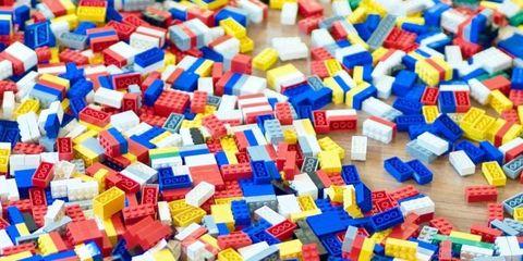 Blue, Colorfulness, Yellow, Majorelle blue, Electric blue, Toy block, Azure, Cobalt blue, Plastic, Rectangle,