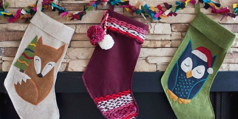 27 Unique Christmas Stockings   Best Cute DIY Ideas For Holiday Stockings