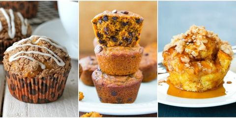 15 Pumpkin Muffins You'll Want Every Morning This Fall