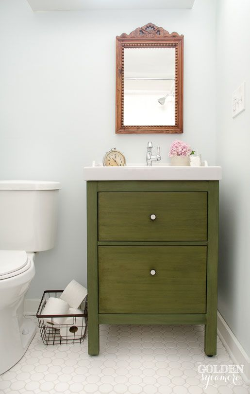 IKEA Bathroom Hacks New Uses For IKEA Items In The Bathroom - Bathroom vanities at ikea
