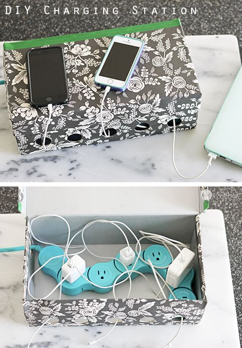 20 Best Phone Charging Stations In 2018 Cute Diy Phone Organizers