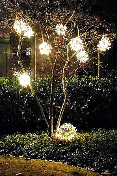 30 best outdoor christmas decorations christmas yard decorating ideas image aloadofball Image collections