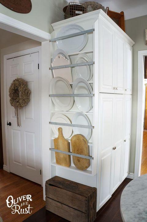 Wood, Room, Hardwood, Floor, Flooring, Wood stain, Cupboard, Major appliance, Kitchen appliance, Freezer,
