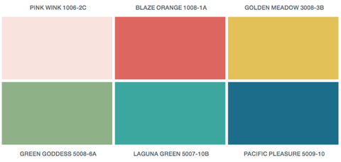 valspar 2016 colors of the year paint colors of the year