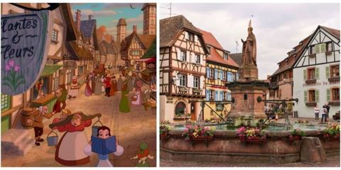Art, Animation, Medieval architecture, Painting, History, Flowerpot, Illustration, Collage, Middle ages, Animated cartoon,