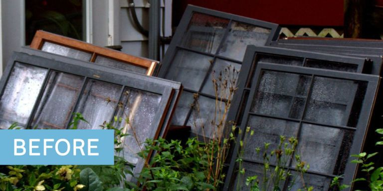 Greenhouse made out of vintage windows how to build a for What is a greenhouse made out of