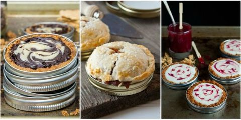 9 Delicious Desserts You Can Make Right in a Mason Jar Lid