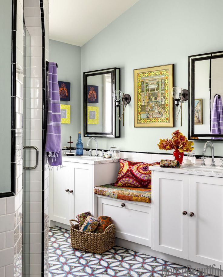 70 best bathroom colors paint color schemes for bathrooms - Bathroom Ideas Colors