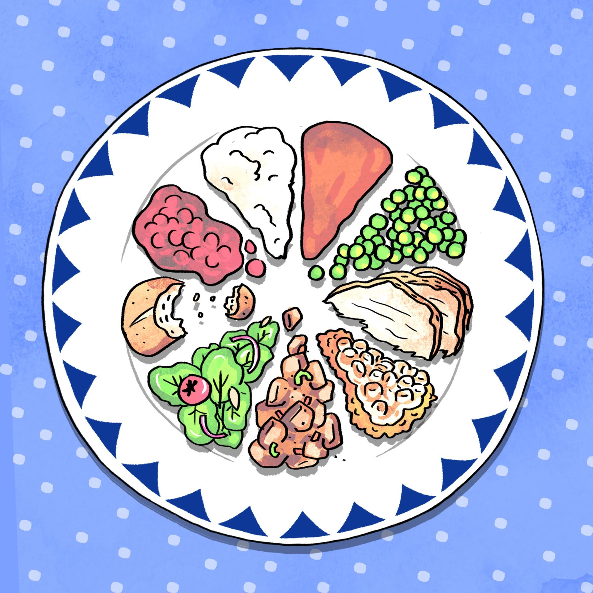 What Your Dinner Plate Says About Your Personality