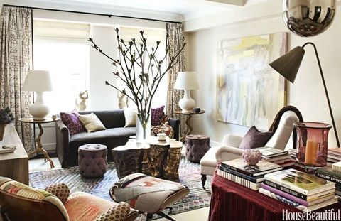 <p>What's an immaculate aesthete to do with a dog around — or a Doritos-loving tween? Let her living room go? Hardly! Turn to hardworking-yet-fabulous fabrics paired with sexy silhouettes.</p>