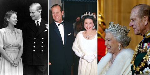 Queen Elizabeth II and Prince Philip through the years