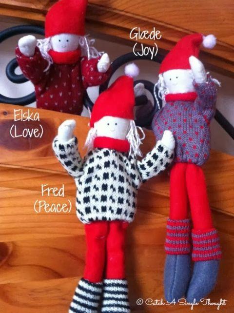 Textile, Red, Toy, Pattern, Carmine, Stuffed toy, Plush, Wool, Sock, Design,