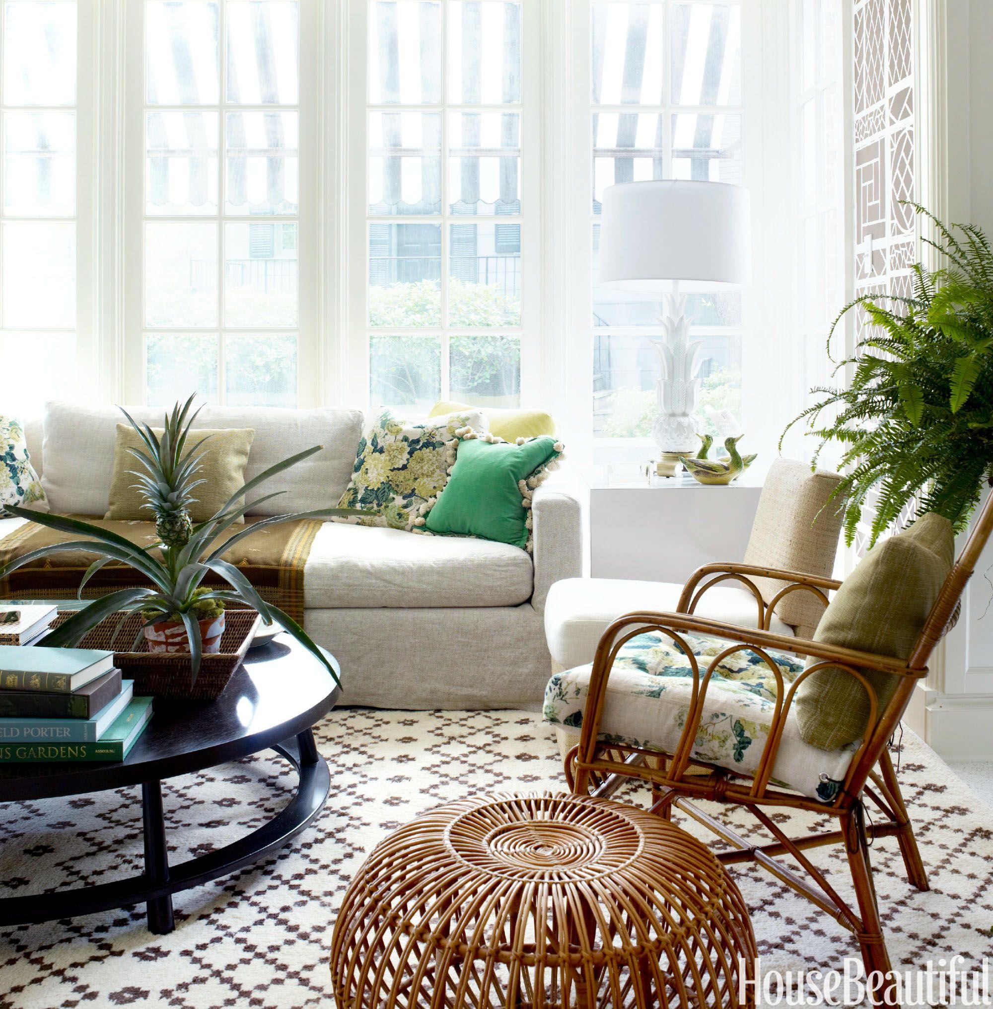 12 Pretty Sunroom Ideas - Chic Designs & Decor for Screened In Porches