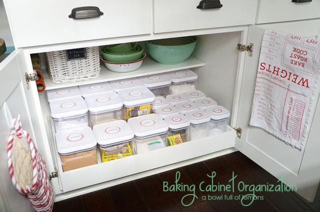 Baking Storage Ideas How to Organize