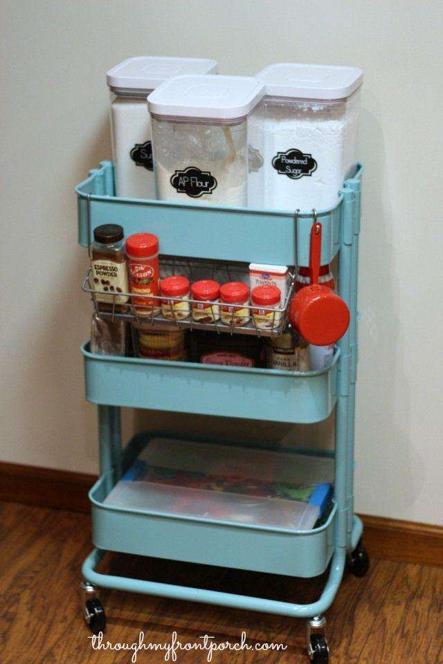 & Baking Storage Ideas - How to Organize Baking Essentials