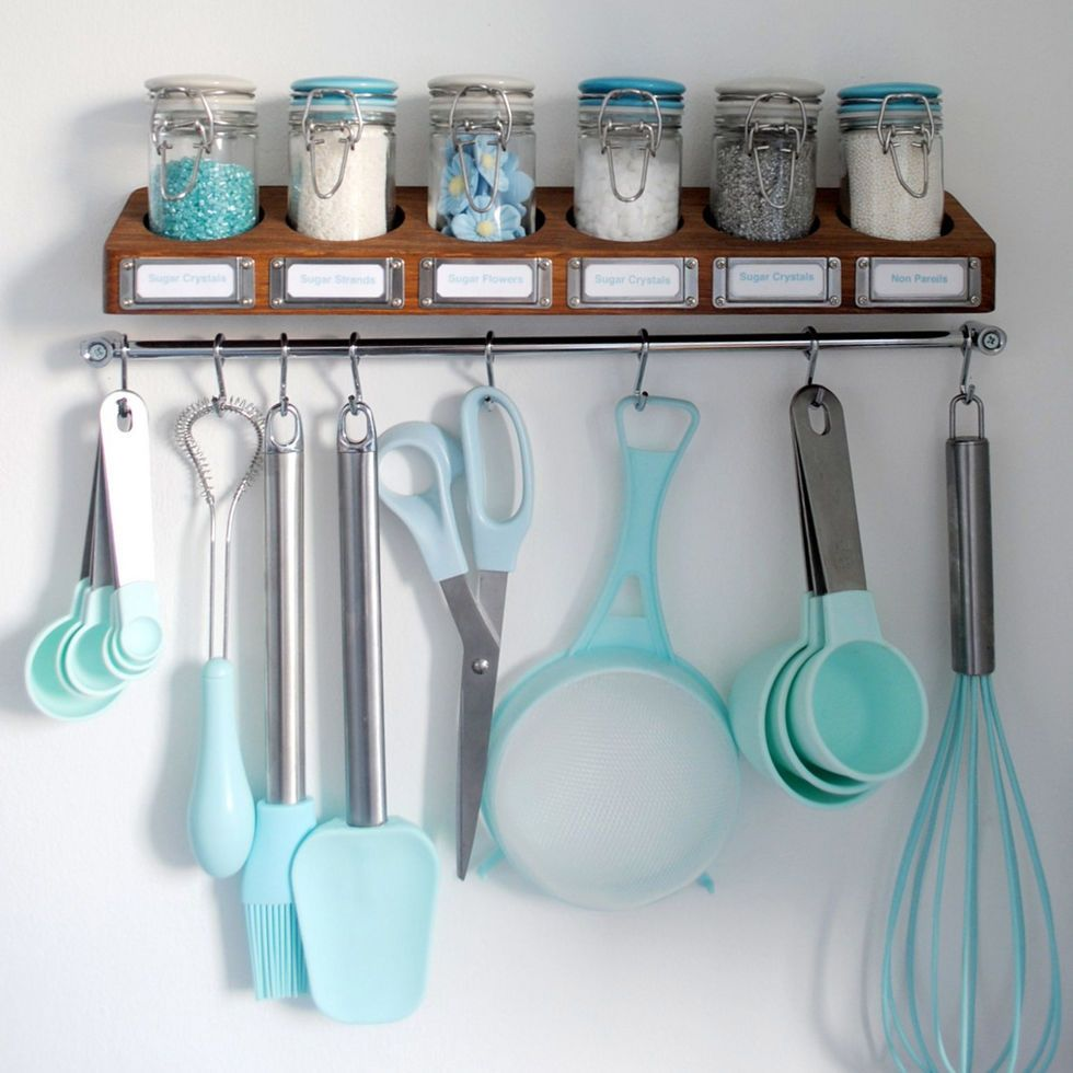 Baking Storage Ideas - How to Organize Baking Essentials