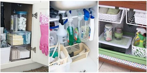 10 Super-Smart Ways to Organize the Space Under Your Sink