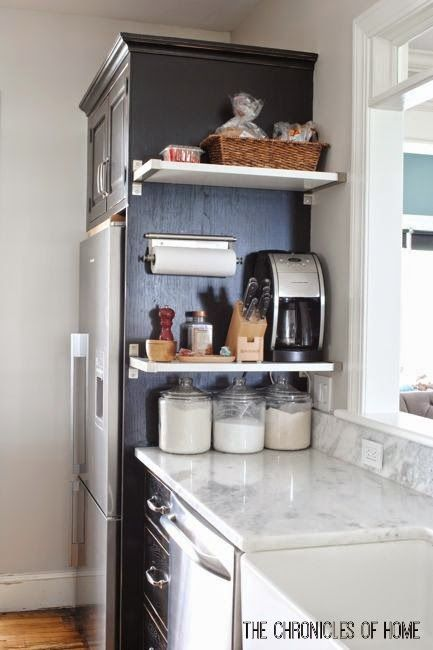 16 Organization Tips That Keep Countertops Clear Kitchen Counter Storage Hacks