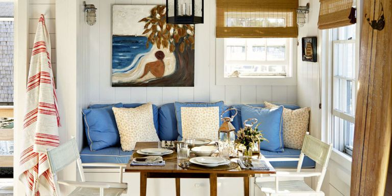 even if you dont have a beach house or boat these ideas can still make your home feel like a seaside retreat - Coastal Interior Design Ideas