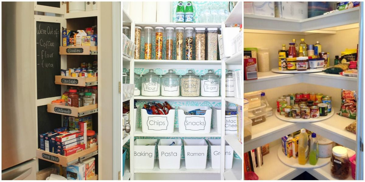 Organizing Tips Fair 15 Pantry Organization Ideas And Tricks  How To Organize Your Pantry Design Decoration