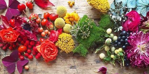 Petal, Flower, Floristry, Cut flowers, Natural foods, Flower Arranging, Bouquet, Floral design, Produce, Artificial flower,