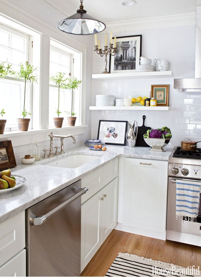 13 White Kitchen Cabinet Ideas - Paint Colors and Hardware ...