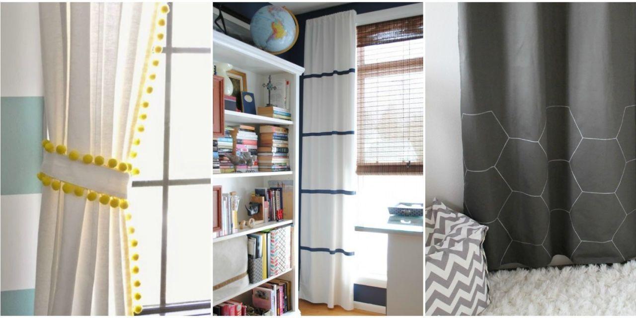 Superieur 10 Creative Ways To Make Ikea Curtains Super Stylish