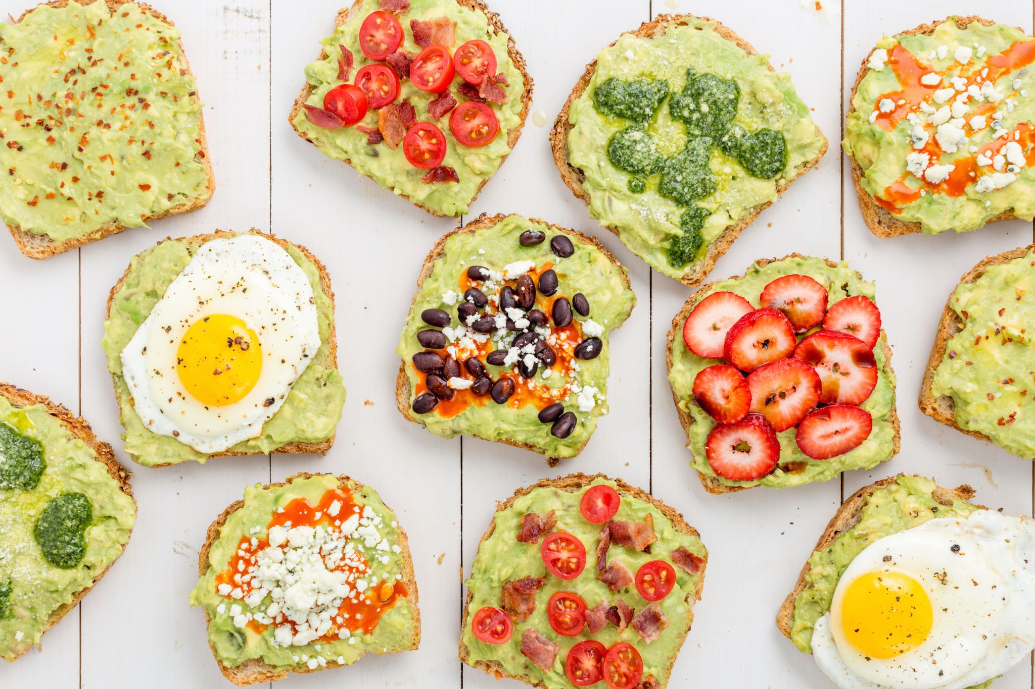Choose Your Own Avocado Toast Adventure With This Cheat Sheet