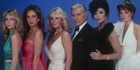 """Then & Now: The Cast Of """"Dynasty"""""""