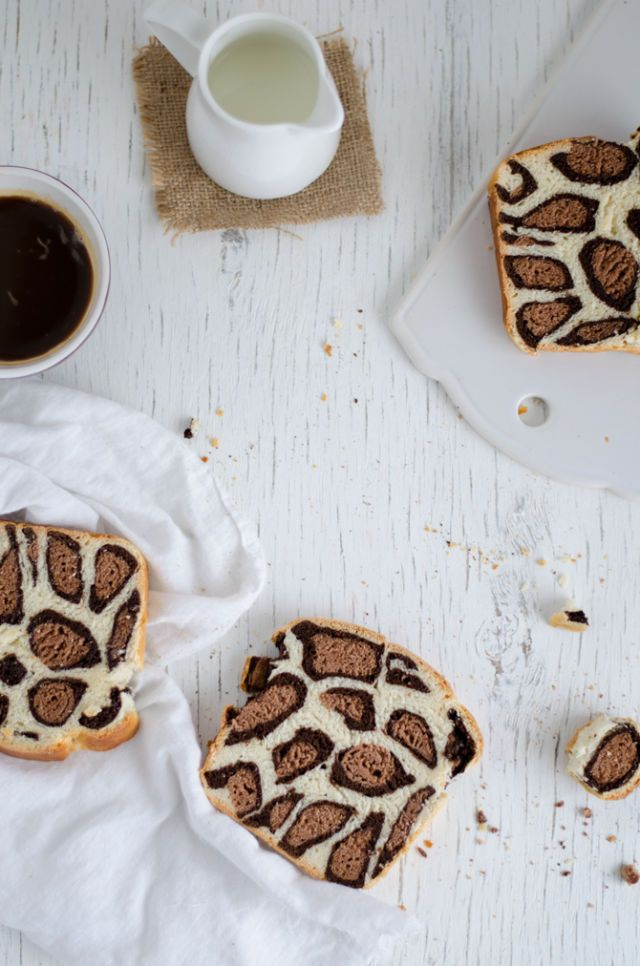 This Leopard Print Bread Makes for One Glam Breakfast