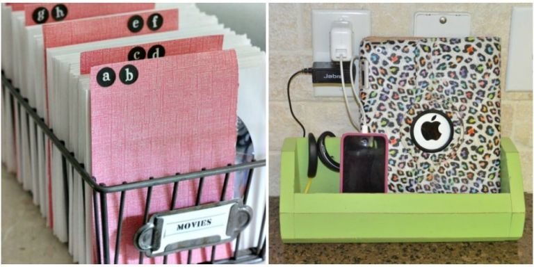 10 Ways to Organize All of the Media in Your House
