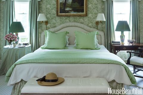 17 Dreamy Green Bedrooms Best Decor Ideas For Green Bedroom,Simple Boutique Interior Design Ideas