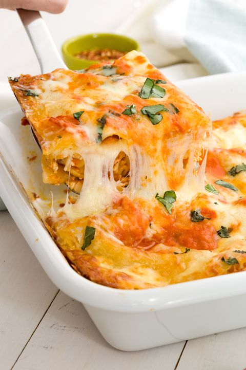 Food, Dish, Ingredient, Recipe, Cuisine, Orange, Dishware, Comfort food, Casserole, Kitchen utensil,