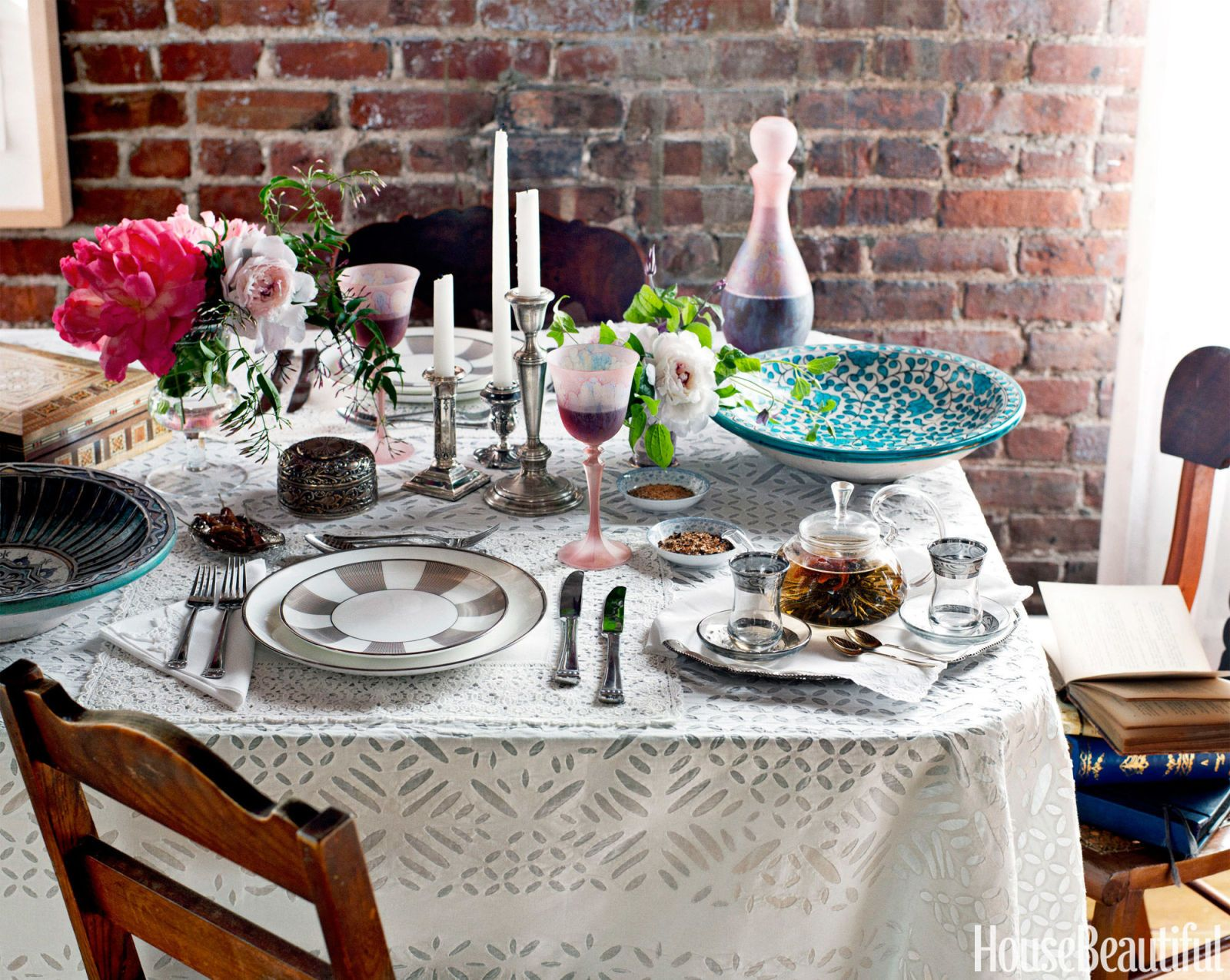 Table Setting Decorations Centerpieces Best Tablescape Ideas - Dining room table setting