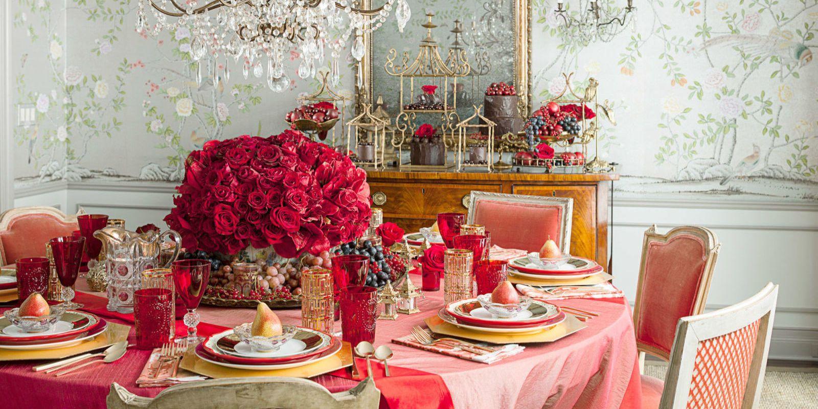 JOHN GRANEN & 19 Valentine\u0027s Day Table Decorations - Romantic Tablescape Ideas ...