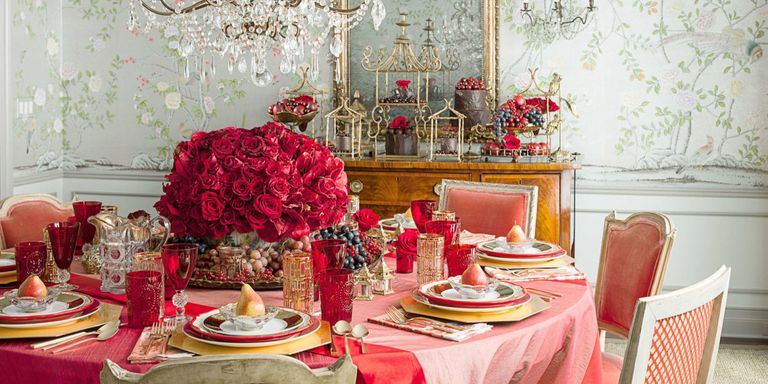 19 Valentine\'s Day Table Decorations - Romantic Tablescape Ideas ...