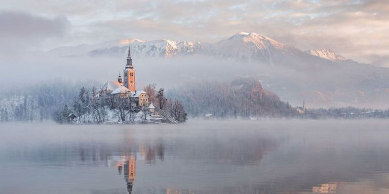 Slovenia's Lake Bled Looks Like It's Straight Out of a Fairytale