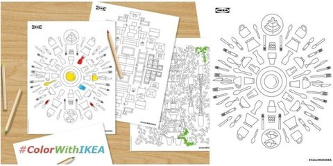 IKEA coloring pages